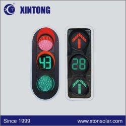Xintong 200/300/400mm het Intelligente LEIDENE Licht van het Verkeerslicht met de Tijdopnemer van de Aftelprocedure