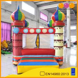 Красочные окраска конфеты с использованием мини-каркасных надувных судов Bouncer (AQ431)