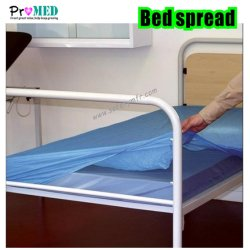 Anti-splash,prueba de agua Medical/Salon/Hospital/mesa de examen CPE desechables camilla/PE/NONWOVEN/SMS/plástico funda de colchón