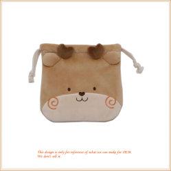 حقيبة مصنوعة حسب الطلب من الدب الناعم ملمس بالبلش الحيوانية