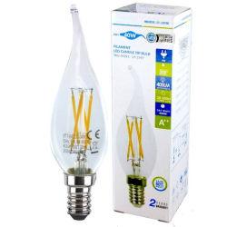 Ce RoHS утвердил свеча накаливания 4 Вт Светодиодные лампы освещения