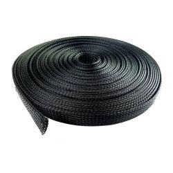 Pet flexível bainha do cabo trançado expansível para Chicote de fios
