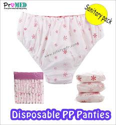 Auto-, биоразлагаемой нетканого материала/PP/SBPP/полипропилена/SMS санитарных одноразовые нижнее белье и при печати для мужчин и женщин