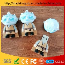Nuovo tasto del USB Flash/USB del PVC dello straniero del fumetto del punto