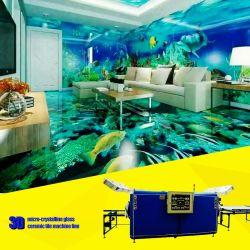3D en carreaux de céramique de verre microcristalline Making Machine pour le grand mur / Décoration de plancher