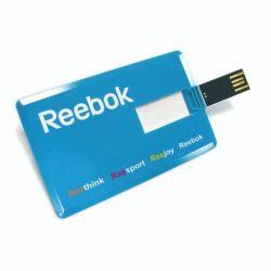 prix d'usine 2GB 4Go 8 Go de carte de crédit d'affaires clés USB USB, stylo lecteur carte mémoire