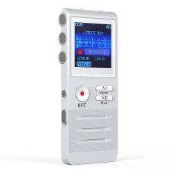 K6 de la pluma de grabación profesional clara reducción de ruido de alta distancia Micro grabación lineal controlado por voz Ape Lossless MP3 (K6)