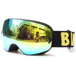 Double couche Benice lentille PC Lunettes de ski Snow Goggle Snow 4600 Lunettes de ski pour enfants personnalisés avec revêtement en miroir