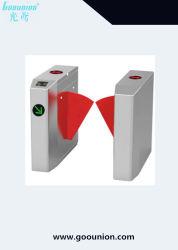 Chaud semi-automatique automatique de la vente de lecteur de carte RFID barrière de volet de la reconnaissance de visage porte tourniquet