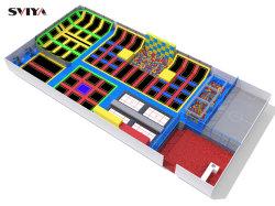 子供および大人の屋内トランポリンの建築者のためにGS TUVの大きい安い正方形そして長方形