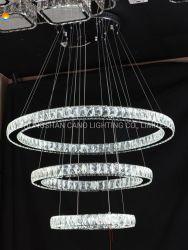 Aprobación CE de la lámpara colgante de LED, Guangzhou/Guzhen/lámparas de araña de cristal de Zhongshan