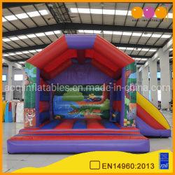 工場価格のジャングルのスライド(AQ641-1)が付いているテーマのコンボのInflatablesの家