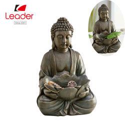 Migliore scultura di vendita di Polyresin Buddha con le coperture, statue antiche a grandezza naturale del Buddha