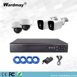 4CH保安用カメラ2.0MPの解像度IPのカメラCCTVシステム