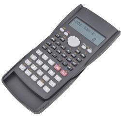 Ordinateur de poche calculatrice scientifique de l'élève à 2 lignes de calcul de la mémoire d'affichage