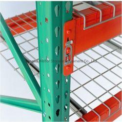 Abocinado de almacén de acero galvanizado soldado de almacenamiento de metal cubiertas de malla de alambre para paletización