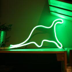 Décoration 5W Support de batterie Shapeable dinosaure néon LED Strip Light