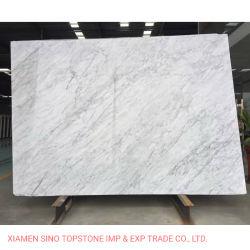 Marmo chiaro bianco di marmo di Bianco Carrara Carrara