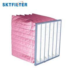 Pocket saco do filtro F7 &Glassfiber Material para sistema de HVAC