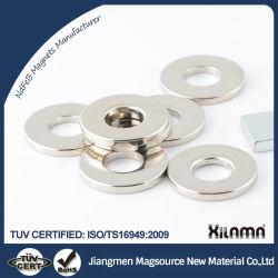 Forti magneti permanenti diametralmente magnetizzati dell'anello radiale