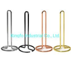Het houder-Weefsel van de Keukenrol van de Keuken van de Draad van het metaal het Rek Kfr40023 van de Houder van het Broodje