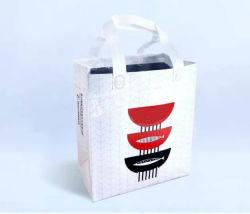 BOPP는 입힌 박판으로 만들어진 알루미늄 호일이 격리해 테이크아웃 음식 보유에게 온난한 차가운 쇼핑 백을 밖으로 취하는 짠것이 아닌 길쌈한 초음파 용접 완전한 EPE 거품을 박판으로 만들었다