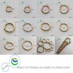 ID38mm Alliage de zinc métal populaire or joint torique Accessoires Sac