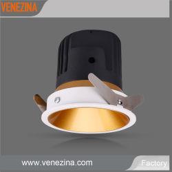 Фиксированные кри микросхема початков 15W/20 Вт Светодиодные потолочные светильники и алюминиевыми светодиодный фонарь направленного света