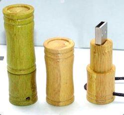 Bambou personnalisé en bois et les lecteurs Flash USB disque USB