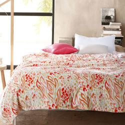 Alta qualidade de impressão confortável Velo Coral Hotel cobertor