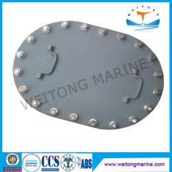 Custom морской/SHIP/катере утюг Тип B водонепроницаемый овальный поднял крышку люка люка