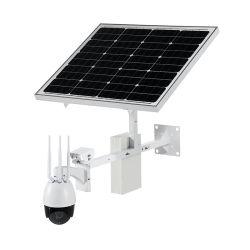 太陽電池パネル動力を与えられたIP PTZのカメラが付いている無線CCTVのセキュリティシステム