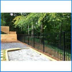 Plantes ornementales et revêtu de poudre de protection de la sécurité clôture en aluminium pour le jardin/résidentiel chambre