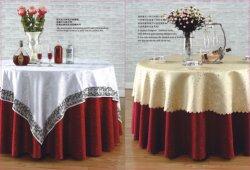 La chaîne de broderie, de mariage, banquet, nappe d'hôtel, linge de table