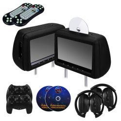 Scanalatura del poggiacapo da 10.1 pollici in lettore DVD con il gioco di FM Transmitter/IR/USB/SD (MP5) /Wireless, tasto di tocco, HDMI, 1080P