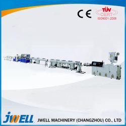 Kunststoff HDPE-Wasserabflussrohr Maschine/ PE/ PE WPC Kunststoffprofil für Außentüranwendung Kunststoffextrudermaschine