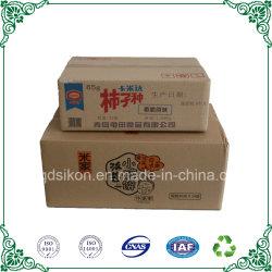 Le papier kraft boite de carton ondulé Logo boîte en carton<br/> alimentaire d'impression