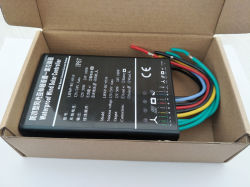 Intelligenter Solarladung-Controller 15A 12V 24V imprägniern Hauptim freienSonnensystem-Straßenbeleuchtung-Controller