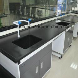 CNCのプロセス特別なサイズの黒の上のカウンタートップ