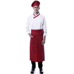Restaurante Professional Chef uniformes de algodón personalizadas