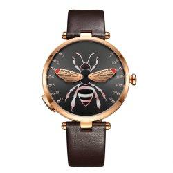 Роскошные часы нержавеющая сталь марки дамы моды девочек Smart запястья кварцевые часы