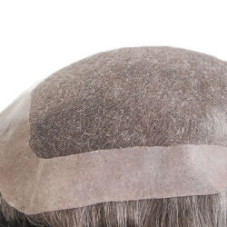顧客用毛の置換システム高品質の人間の毛髪