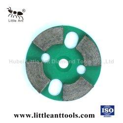 Конкретные/гранита и мрамора/плитками Тераццо/Quartz Diamond металлические Бонд шлифовального круга.