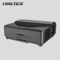 Домашний кинотеатр кинотеатр видео 3D DLP 6500 лм WiFi Ultra с малым проекционным расстоянием Android 3D Full HD 1080P лазерных проекторов