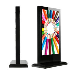 Dedi 86 Inch piscine autoportante kiosque commercial d'affichage dynamique LCD