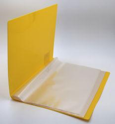 Het Duidelijke Boek van het Boek van de Vertoning van de Omslag van het Dossier van de kantoorbehoeften met 20 Zakken