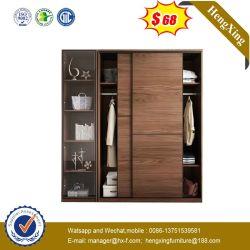 Apartamento moderno de madera MDF muebles armario armario armario de habitación de hotel (UL-9GD032)