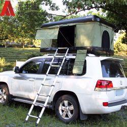4WD Shell van de Tent van het dak de Harde Ladder van de Stap van het Aluminium van de Tent van het Dak van de Vrachtwagen van de Auto Hoogste Telescopische voor het Kamperen en het Reizen