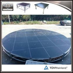 Алюминиевый корпус для мобильных ПК этап за круглым столом этапа для нескольких этапе производительность