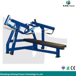 Salle de gym de l'équipement commercial d'un marteau Série ISO-presse pour établi horizontale latérale